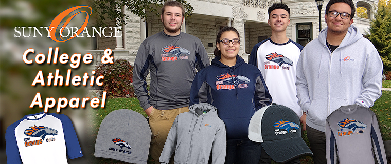 New College and Athletic Apparel Now Available!