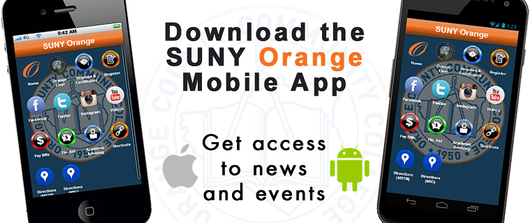 SUNY Orange Mobile App now available!