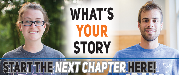 What's Your Story? Learn more about SUNY Orange He